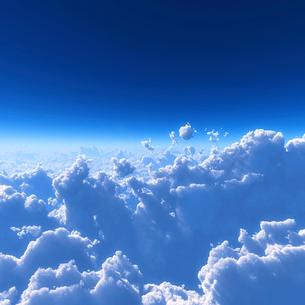青空と雲海の写真素材 [FYI02866584]