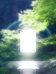 光が射し込む窓の写真素材 [FYI02866590]
