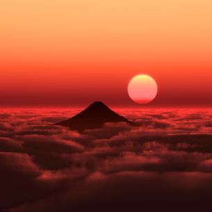 富士山の写真素材 [FYI02866598]