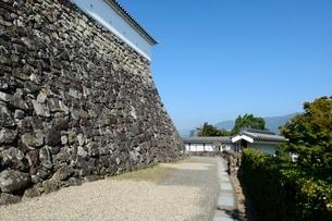 福知山城石垣の写真素材 [FYI02870336]