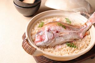 鯛飯の写真素材 [FYI02871663]