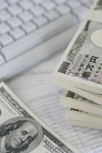 日本円と外貨の写真素材 [FYI02880269]