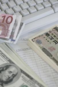 日本円と外貨の写真素材 [FYI02880300]