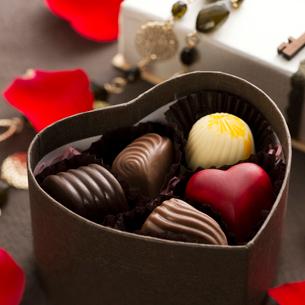 バレンタインチョコレートの写真素材 [FYI02889641]