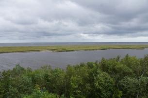 野付半島の風景 尾岱沼の写真素材 [FYI02893559]