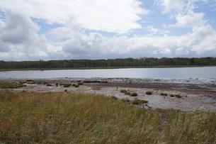 野付半島の風景 ナナワラの写真素材 [FYI02893564]