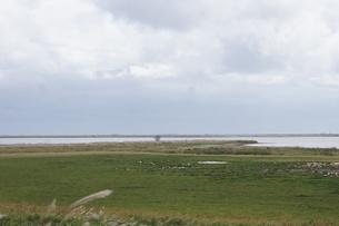 野付半島の風景 ナナワラの写真素材 [FYI02893585]