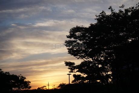 夕焼けの写真素材 [FYI02898213]