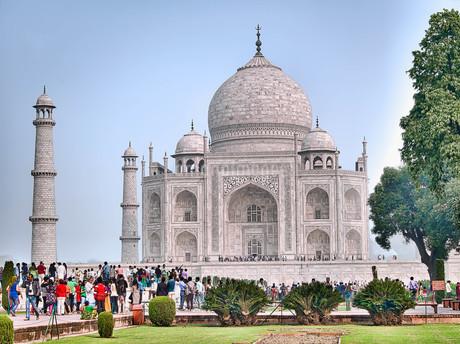 インド タージマハルの写真素材 [FYI02904454]