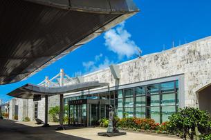 沖縄 久米島空港ロビーの写真素材 [FYI02910848]
