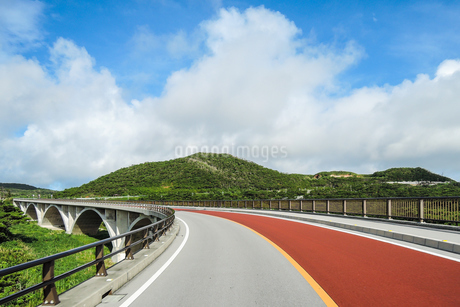 てぃーだ橋・つむぎ橋からの絶景 の写真素材 [FYI02910860]