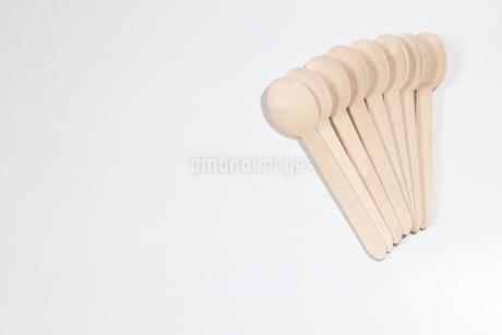 木製のスプーンの写真素材 [FYI02912967]