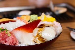 海鮮丼の写真素材 [FYI02914986]