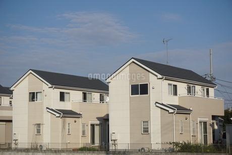 住宅の写真素材 [FYI02917234]