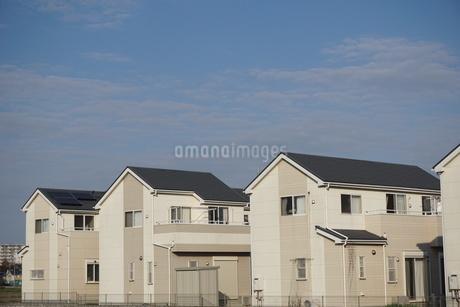 住宅の写真素材 [FYI02917235]