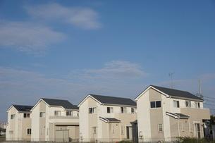 住宅の写真素材 [FYI02917236]