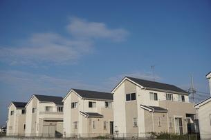 住宅の写真素材 [FYI02917237]