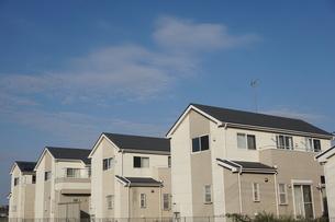 住宅の写真素材 [FYI02917238]