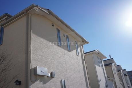 住宅の写真素材 [FYI02917247]