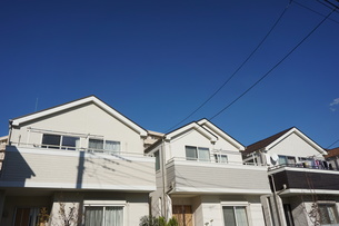 住宅の写真素材 [FYI02917284]