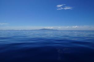 べた凪の母島の写真素材 [FYI02917389]