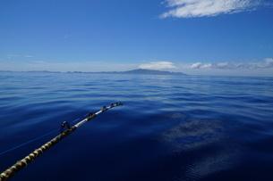 べた凪の母島の写真素材 [FYI02917390]