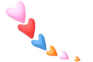 ハート型の風船の写真素材 [FYI02922205]