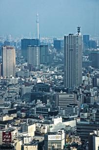 東京都庁の展望台からの景色の写真素材 [FYI02922595]