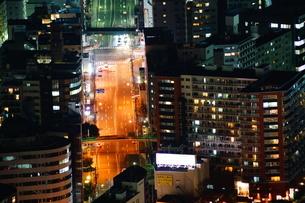 ランドマークタワーからの横浜夜景の写真素材 [FYI02922637]