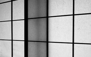 障子の窓の写真素材 [FYI02922842]
