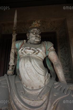 彫刻 Shuanglin Templeの写真素材 [FYI02923079]