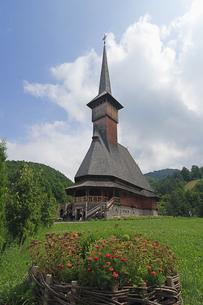 木造の教会の写真素材 [FYI02923133]