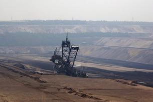 炭鉱の穴掘機の写真素材 [FYI02923217]