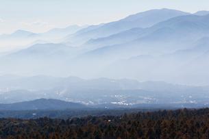 美ヶ原から見た風景の写真素材 [FYI02923286]