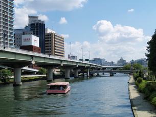 鉾流橋から見た東側の写真素材 [FYI02923614]