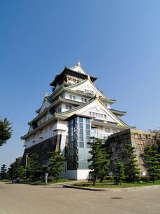 大阪城の南西側の写真素材 [FYI02923704]