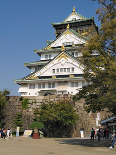 大阪城の北東側の写真素材 [FYI02923718]