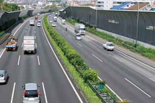 東名高速道路の写真素材 [FYI02924366]