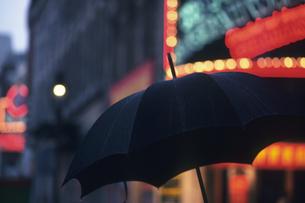雨降りの写真素材 [FYI02924645]