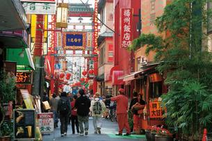 市場通り 中華街の写真素材 [FYI02925333]