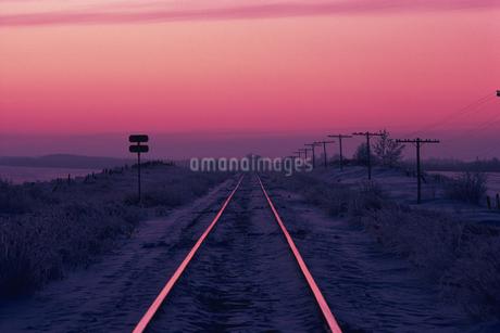 線路の写真素材 [FYI02925907]