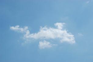 雲と青空の写真素材 [FYI02927087]