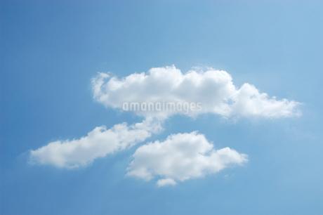 雲と青空の写真素材 [FYI02927098]