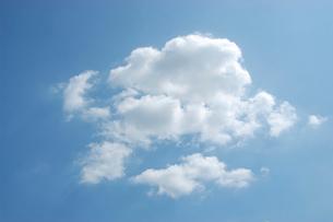 雲と青空の写真素材 [FYI02927099]