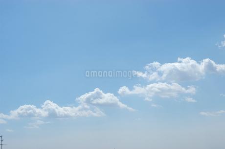 雲と青空の写真素材 [FYI02927101]
