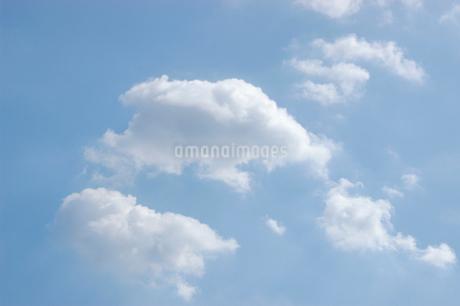 雲と青空の写真素材 [FYI02927102]
