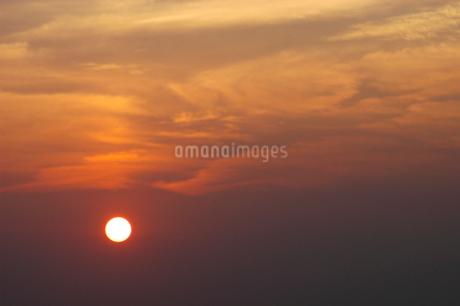 夕日の写真素材 [FYI02927171]