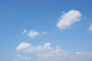 雲と青空の写真素材 [FYI02927183]