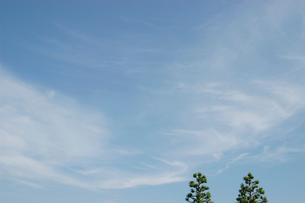 空と雲の写真素材 [FYI02927276]