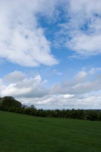 タラの丘と青空の写真素材 [FYI02927674]